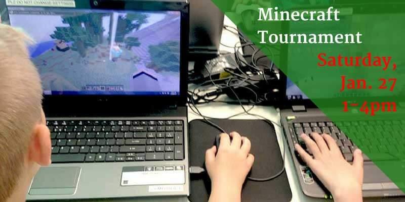 January Minecraft Tournament
