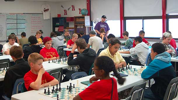 chess competition team