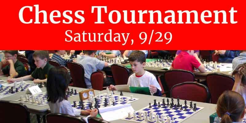 Chess Tournament for Kids Grades K to 8
